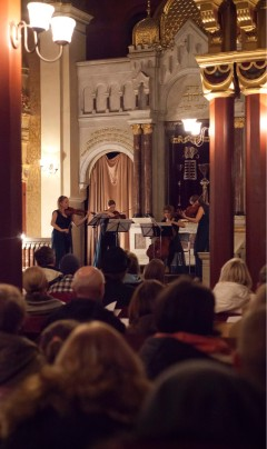 Koncert w Synagodze Tempel, Kraków, 27.11.2016